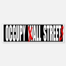 Occupy All Streets Graffiti Bumper Bumper Sticker