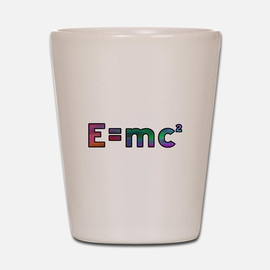 Multicolored Relativity Shot Glass