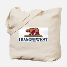 I Bang From The West Long Bea Tote Bag