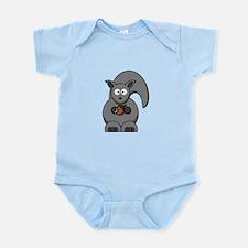 Cartoon Squirrel Infant Bodysuit