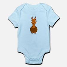 Cartoon Llama Infant Bodysuit