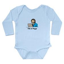 Unique Peggy Long Sleeve Infant Bodysuit