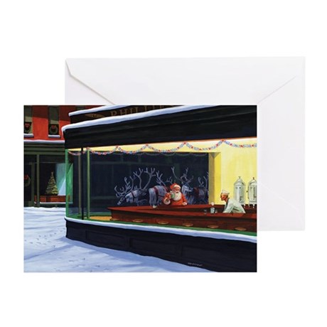 Christmas Diner Greeting Cards (Pk of 20)