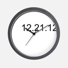 Funny I survived 21 12 2012 Wall Clock