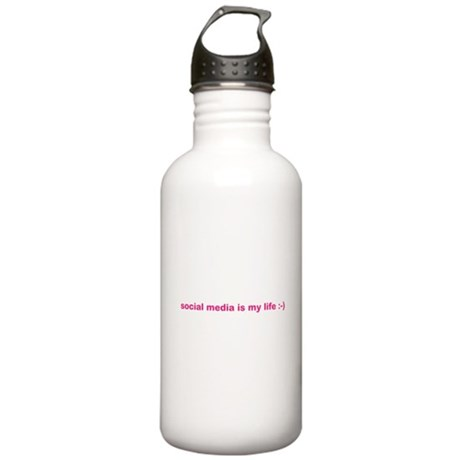 Social Buzz Stainless Water Bottle 1.0L