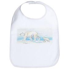Mom & Baby Polar Bear Bib