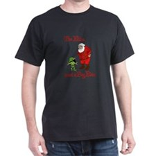 Santas Elves go on strike T-Shirt
