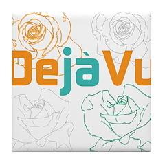 OYOOS Deja Vu design Tile Coaster