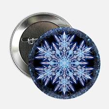 """October Snowflake 2.25"""" Button"""