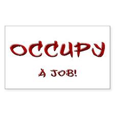Occupy...a job! Decal