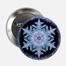 "November Snowflake 2.25"" Button"