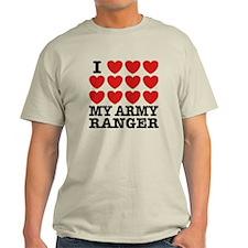 I Love My Army Ranger T-Shirt