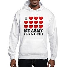 I Love My Army Ranger Hoodie