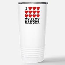 I Love My Army Ranger Travel Mug