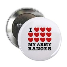 """I Love My Army Ranger 2.25"""" Button"""