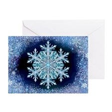 December Snowflake Greeting Cards (Pk of 20)