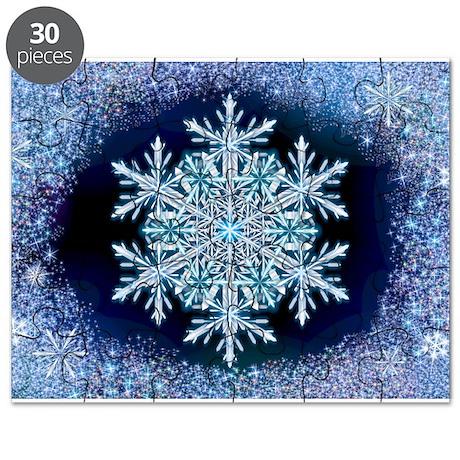 December Snowflake Puzzle