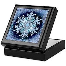 December Snowflake Keepsake Box