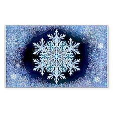 December Snowflake Decal
