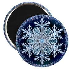December Snowflake Magnet