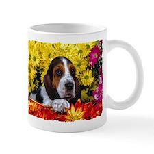 BASSET HOUND BOQUET Mug