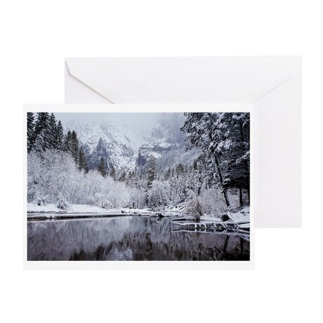 Wintry Yosemite Greeting Card No. 3