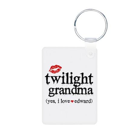 Twilight Grandma Aluminum Photo Keychain