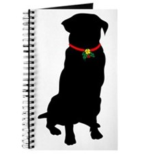 Christmas or Holiday Golden Retriever Silhouette J