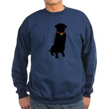 Christmas or Holiday Golden Retriever Silhouette S