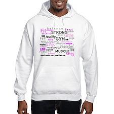 Positive Vibes Logo Hoodie Sweatshirt