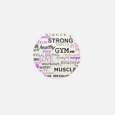 Positive Vibes Logo Mini Button (100 pack)