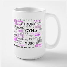 Positive Vibes Logo Large Mug