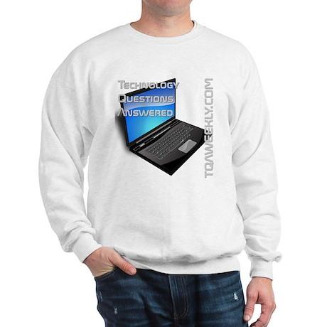 TQA Wears Sweatshirt