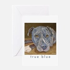 True Blue Greeting Card