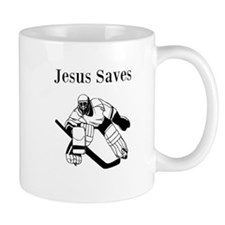 Jesus Saves - Hockey 3 Mug