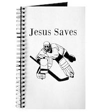 Jesus Saves - Hockey 3 Journal