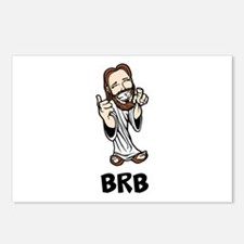 Jesus BRB Postcards (Package of 8)
