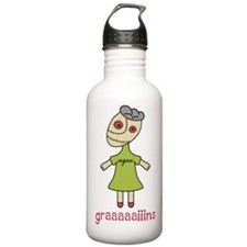 Graaaaaiins Water Bottle