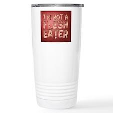 Not a Flesh Eater BG Travel Mug