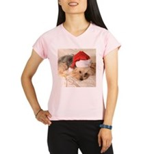 Santa Yorkie - Performance Dry T-Shirt