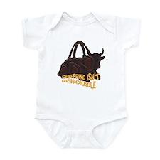 Suffering isnt Fashionable Infant Bodysuit