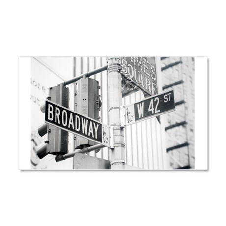 NY Broadway Times Square - Car Magnet 20 x 12