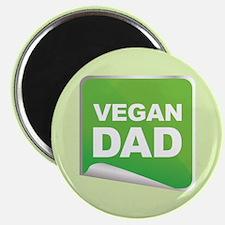 Vegan Dad Label Magnet