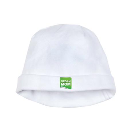 Vegan Mom Label baby hat