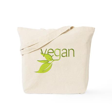 Leafy Vegan Tote Bag