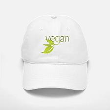 Leafy Vegan Baseball Baseball Cap