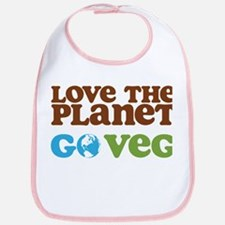 Love the Planet Go Veg Bib