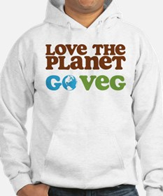 Love the Planet Go Veg Hoodie