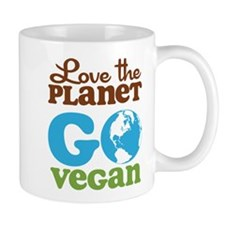 Love the Planet Go Vegan Mug