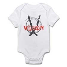 Vegan Anarchist Infant Bodysuit
